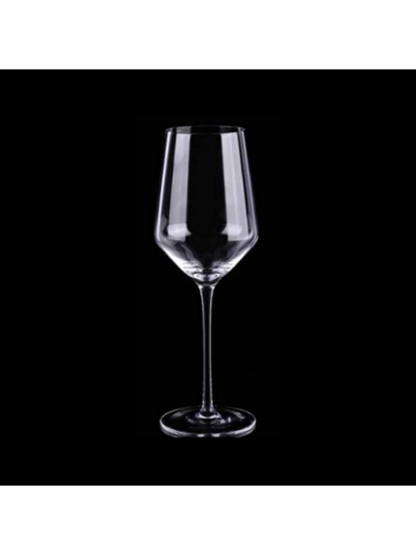 Trove Crystal White Wine Glasses, 440 ml, Set of 2