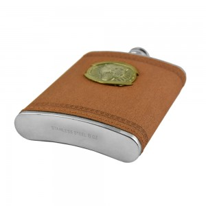 Roaring Lion Hip Flask - 8 oz