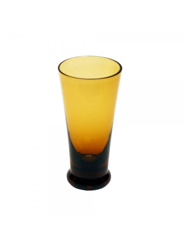 Colored Fancy Shot Glass - Yellow
