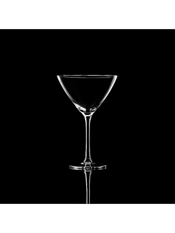 Trove Crystal Martini Glass, 265 ml, Set of 2