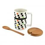 Abstract Mug Set