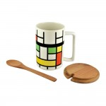 Abstract Mug Set