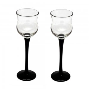Fancy Glasses with colored stem