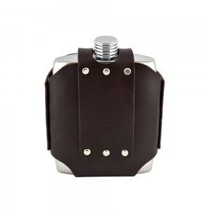 Hip Flask With Removable Pouch