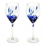 Blue Colored Glasses