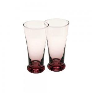 Shot Glasses with Colored Base - Violet