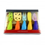 Colorful Cheese Knives - 5 pc Set