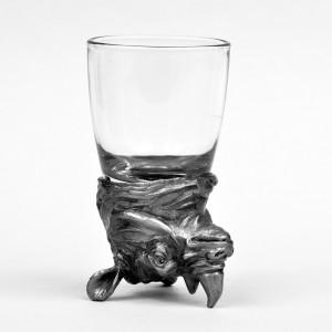 Animal Head Shot Glasses,50ml,Set of 2 Rhino