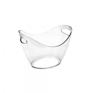 Transparent Ice Bucket (2-4 bottles)