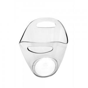 Transparent Ice Bucket for 6 bottles