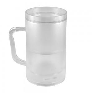 Transparent Frosty Mug