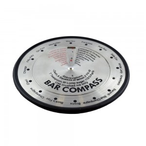 Cocktail Shaker and Cocktail Recipe Compass - Cocktail Making Combo