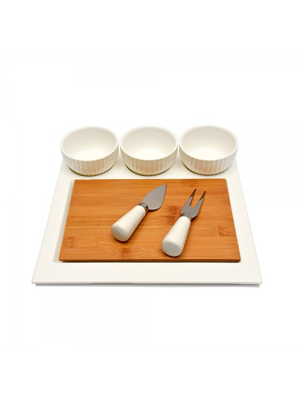 7 pc Cheese Serving Set