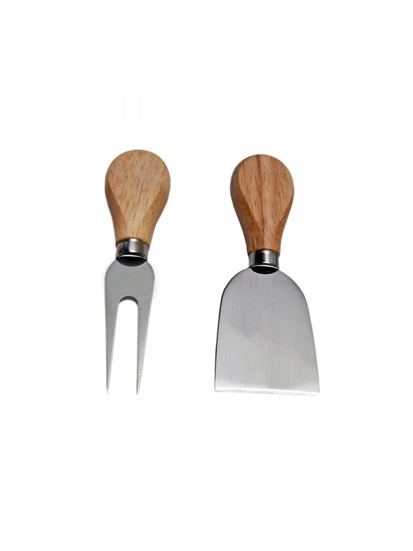 Cheese Knife and Fork Set