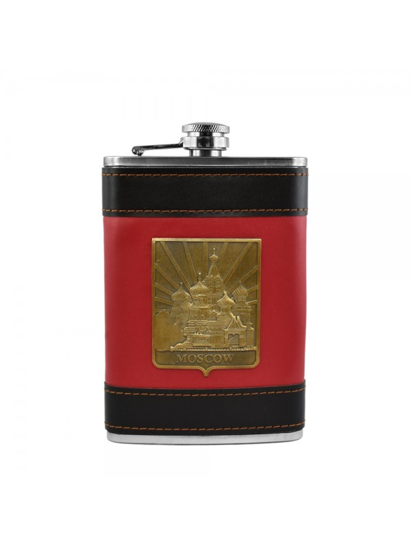Moscow City Hip Flask - 9 oz