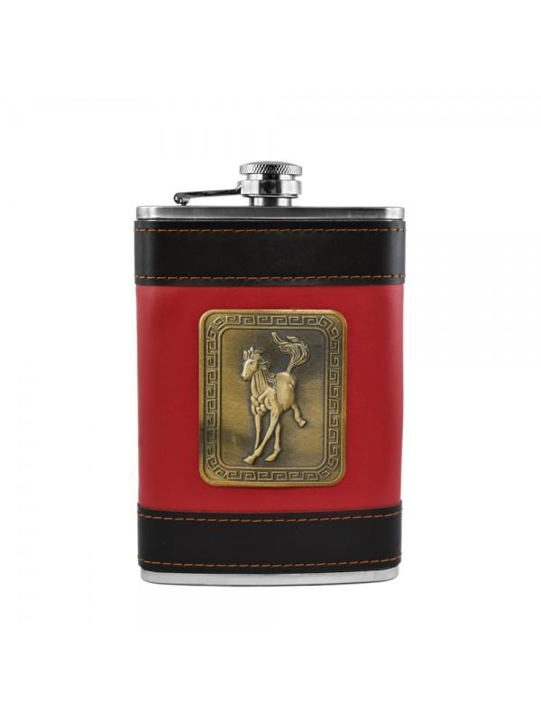 Running Horse Hip Flask - 9 oz