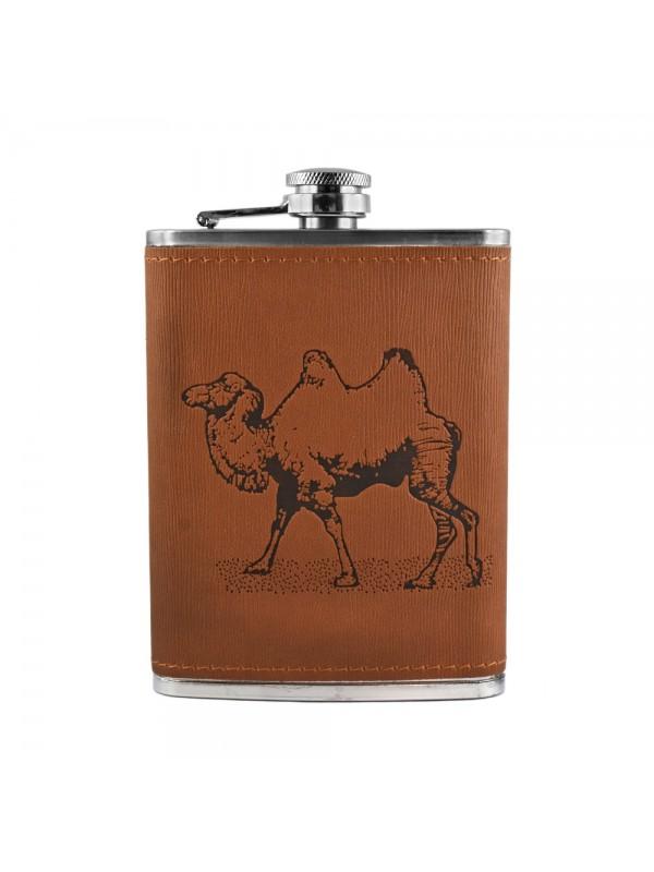 Camel Hip Flask - 8 oz