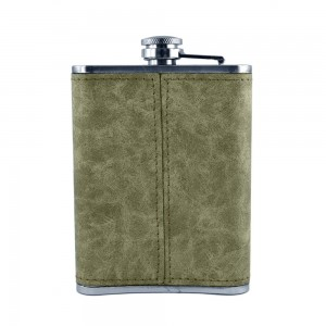 Skull Art Hip Flask - 8 oz