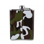 Camouflage Hip Flask - 8 oz