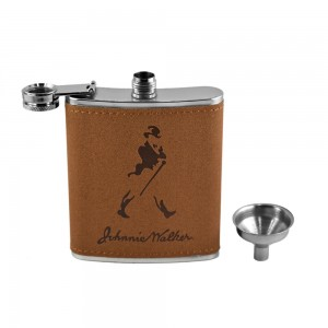 Johnie Walker Hip Flask Set - 7 oz