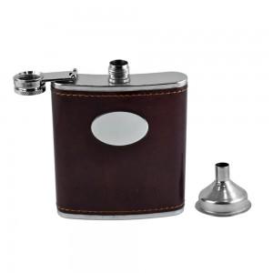 BARCELONA Hip Flask Set - 7 oz