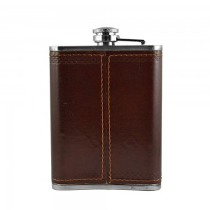 Stag Figure Hip Flask - 8 oz