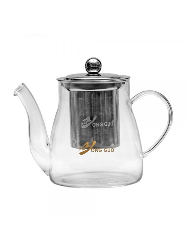 Borosilicate Green Tea Kettle