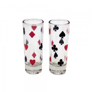 63 pc Poker Drinking Game Set