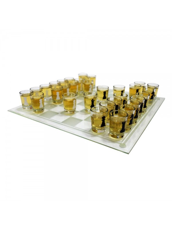 """15.5"""" Chess Drinking Board Game"""
