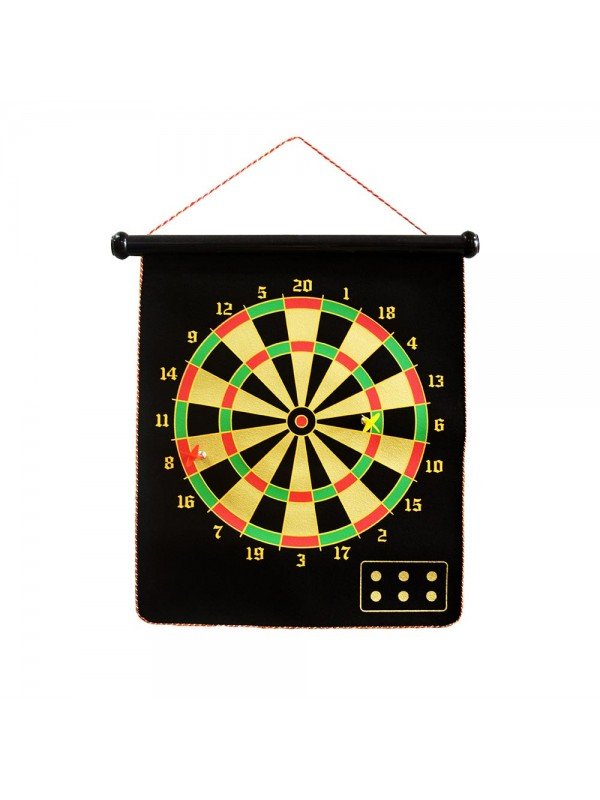 Dartboard Game with 6 Magnetic Darts