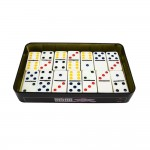 Double Colour Dot Dominoes Board Game